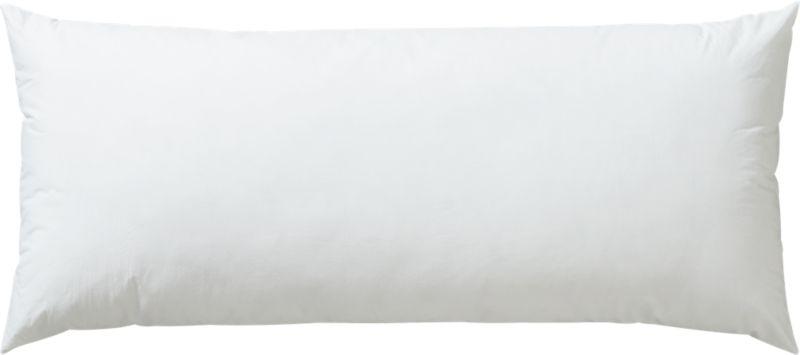 """36""""x16"""" down alternative pillow insert"""