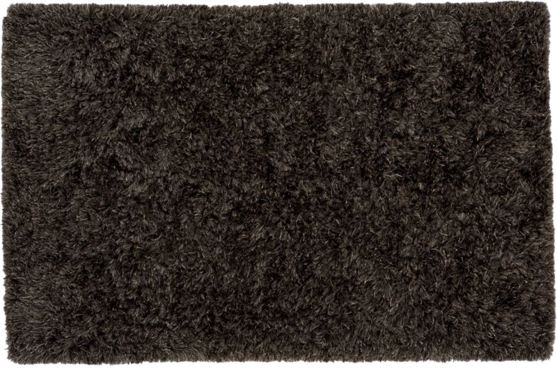 drake grey shag rug 5'x8'