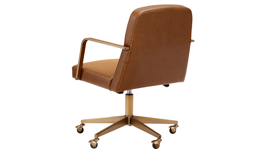 Draper Faux Leather Office Chair