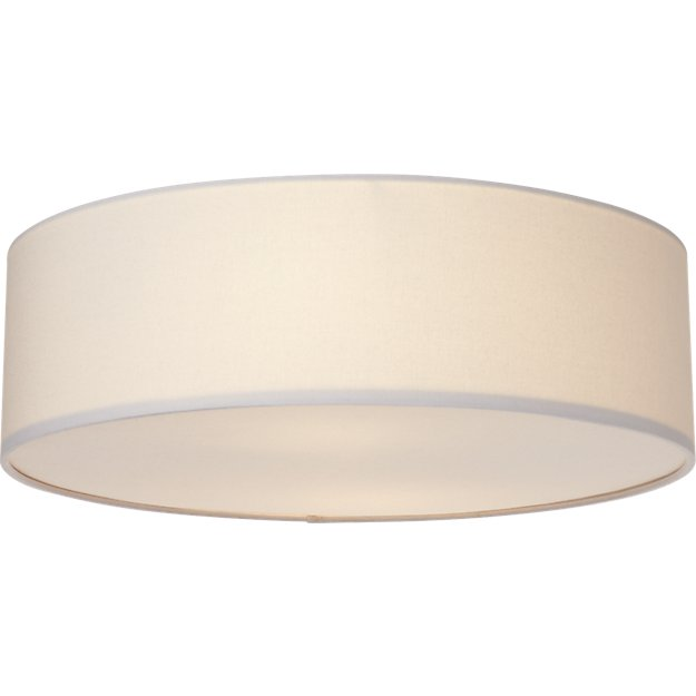 Drum Flush Mount Light Reviews Cb2