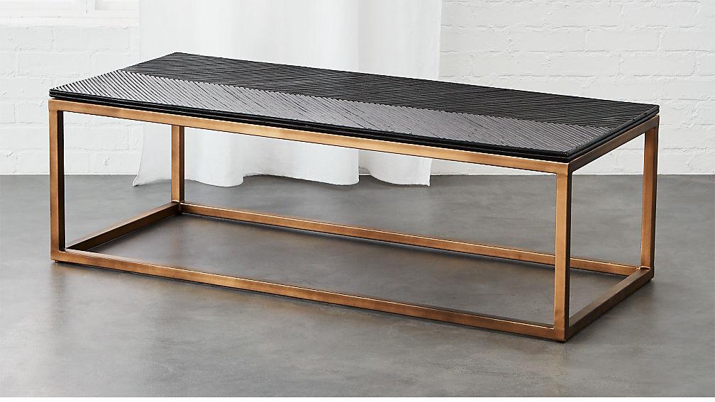 du monde rattan coffee table - Rattan Coffee Table