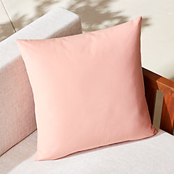 "20"" dusty pink outdoor pillow"