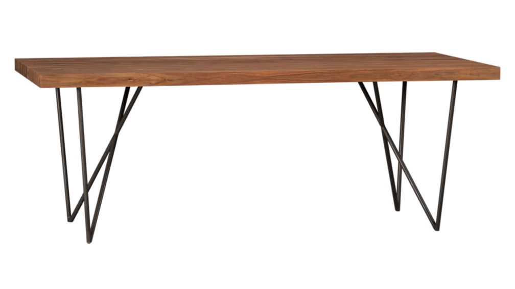 Dylan 36x80 Sheesham Wood Dining Table Reviews Cb2