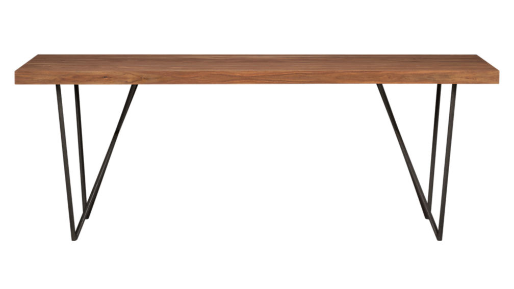 Dylan 36x80 sheesham wood dining table in dining tables for Table table restaurants locations