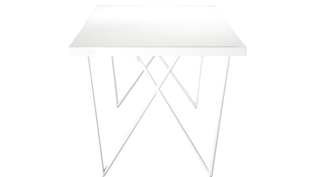 "Dylan 36""x80"" White Dining Table"