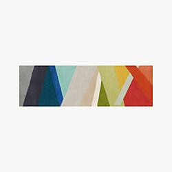 Banded Multicolor Stripe Runner 2.5'x8'