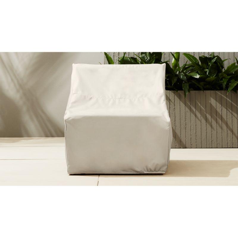 ebb armless chair cover