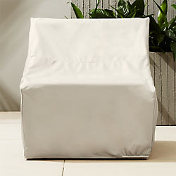 ebb waterproof armless chair cover