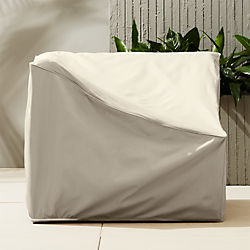 ebb waterproof corner chair cover