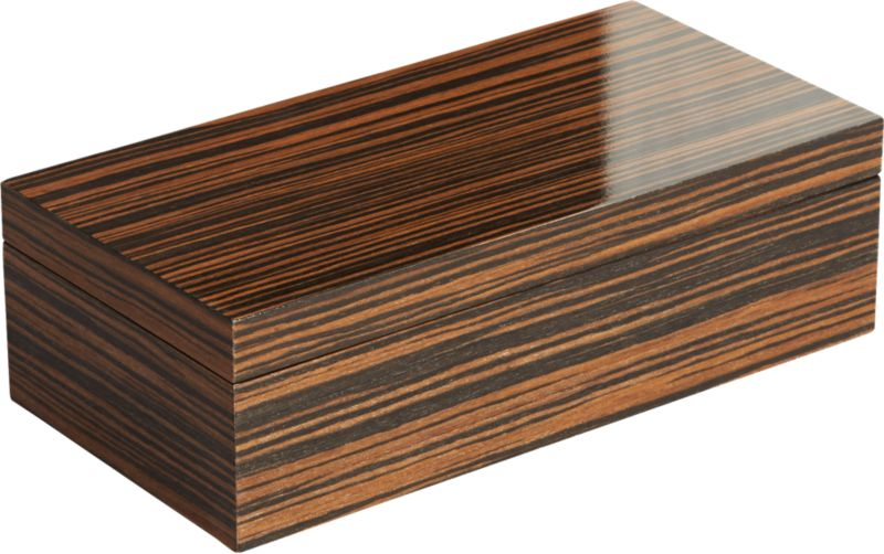 Online Designer Bedroom Ebony Small Wood Storage Box