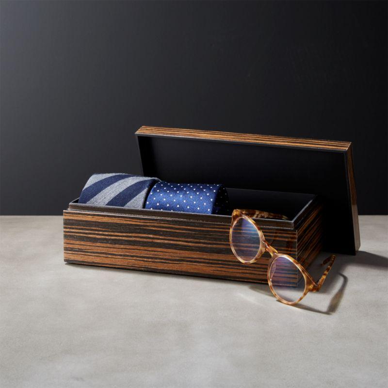 Online Designer Bedroom Ebony Small Wood Storage Box