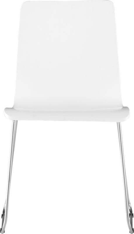 echo white chair