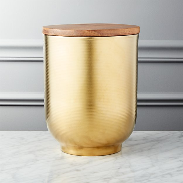 Echo Large Gold Canister