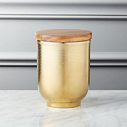 Echo Small Gold Canister