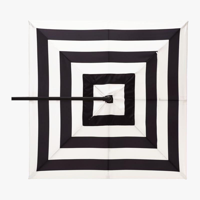 Pin It Eclipse Black And White Stripe Umbrella Shade
