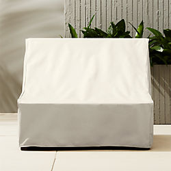 elba waterproof armless chair cover