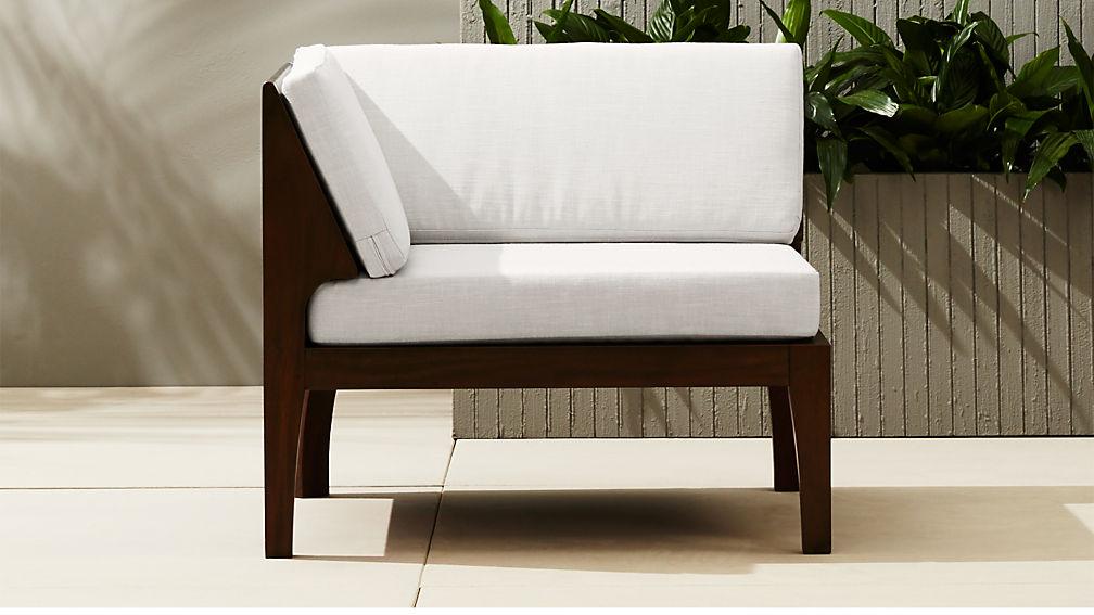 Elba Outdoor Corner Chair + Reviews