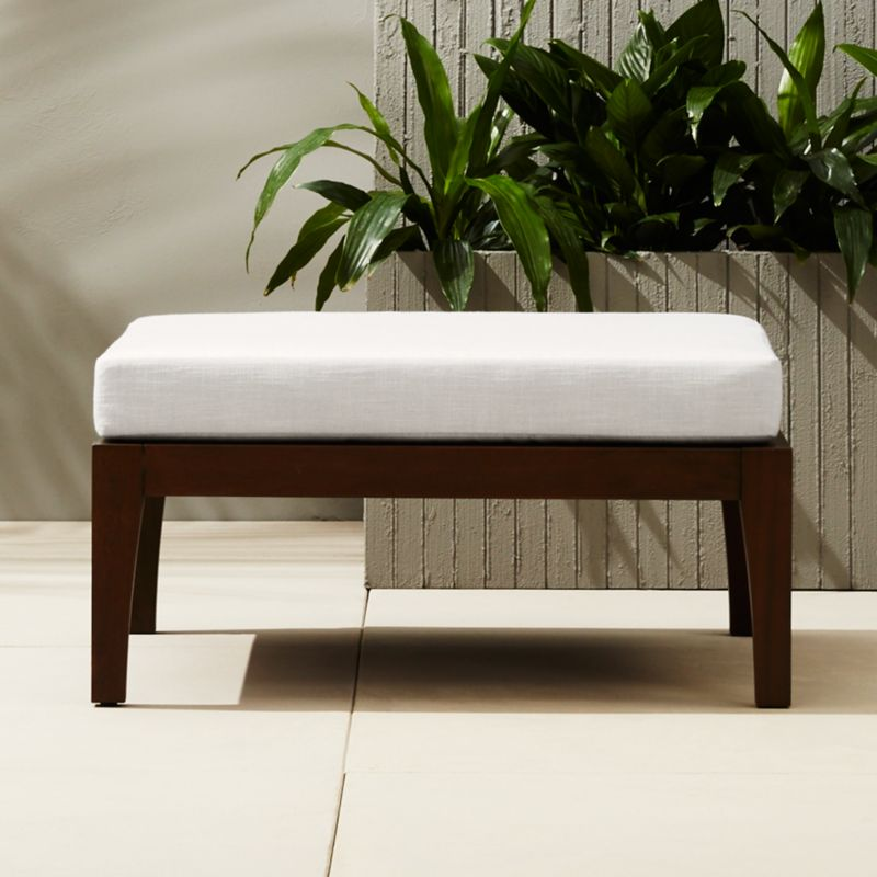 Elba Outdoor Ottoman Coffee Table | CB2