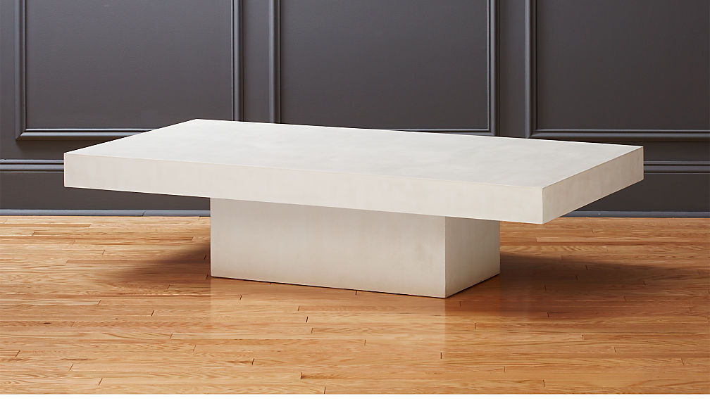 Concrete Coffee Table Cement