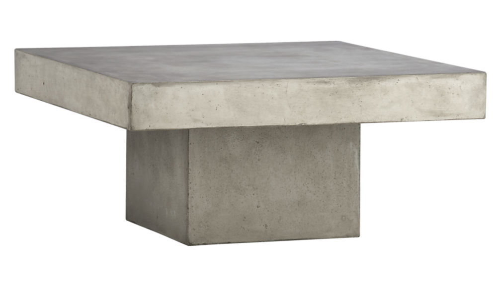 element cement top coffee tableCB2