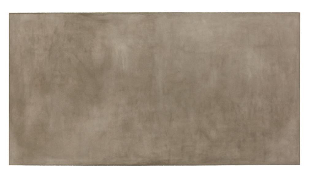 element rectangular grey concrete coffee table