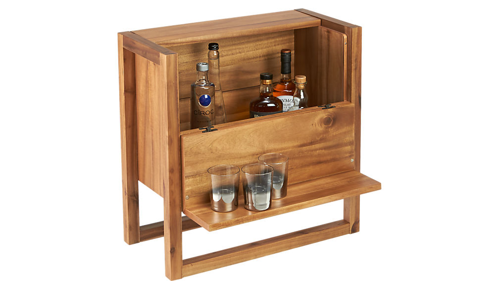 elixir mini bar table | CB2