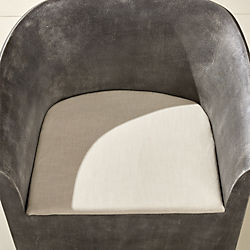 elysse natural chair cushion