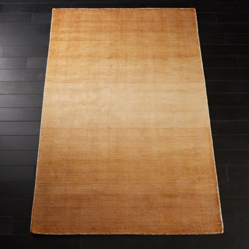 Equinox Camel Brown Ombre Rug