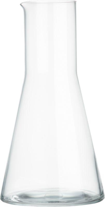 erlen glass pitcher
