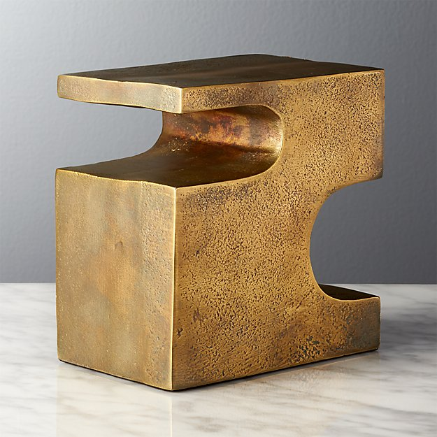 Esher Antique Brass Bookend