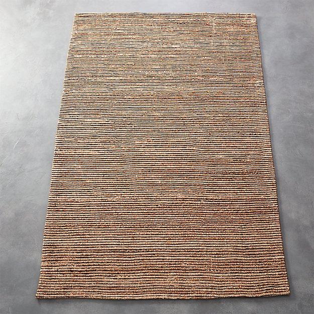 espadrille braided jute rug | cb2