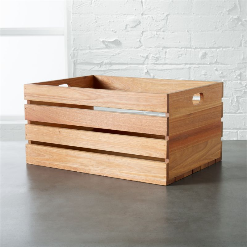 eucalyptus large storage box