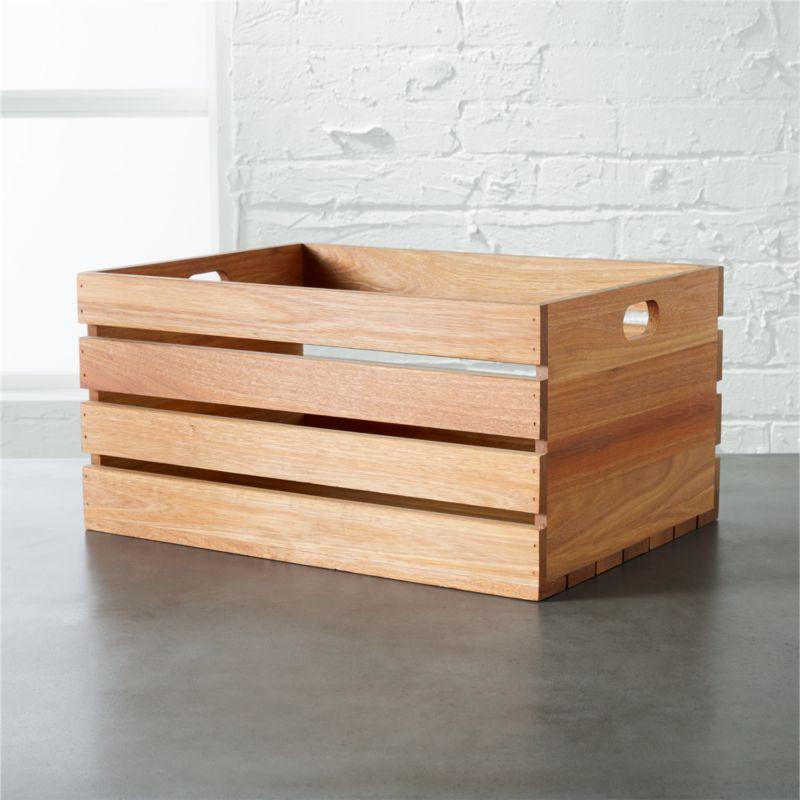 eucalyptus large storage box