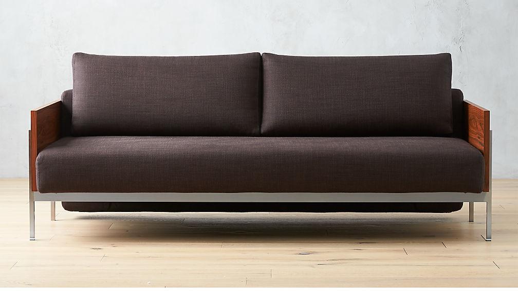 Exton Espresso Sleeper Sofa Reviews Cb2