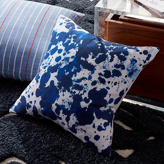 "18"" Indigo Ink Pillow"