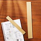 2-Piece Solid Brass Studio Ruler Set