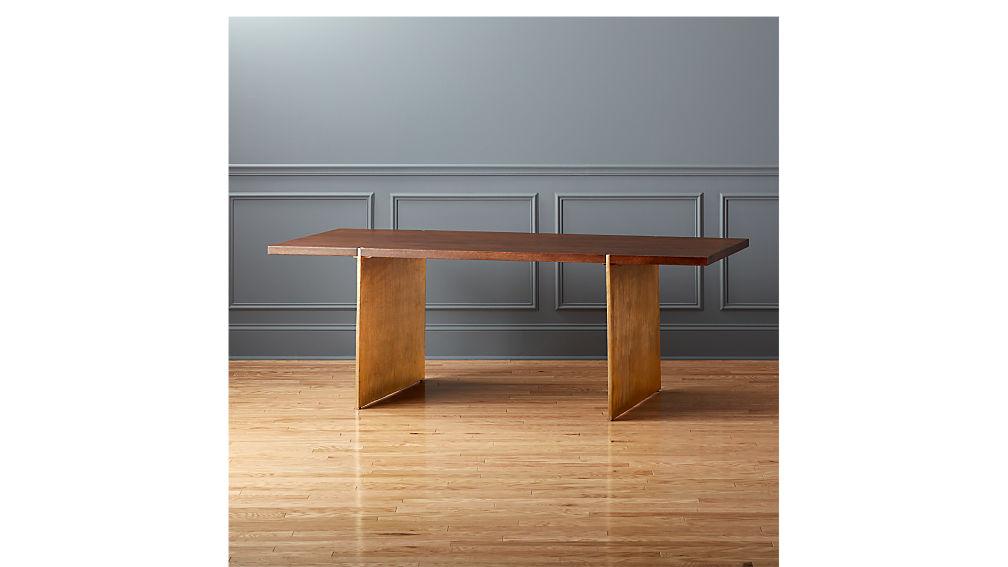 Venice Studio Wood Table Desk. Venice Studio Wood Table Desk   CB2
