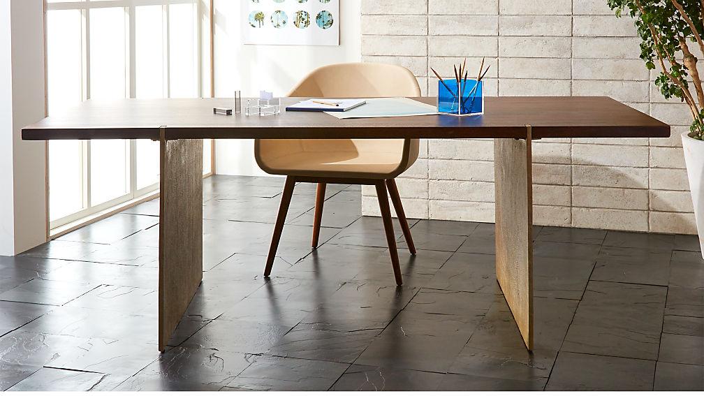 Venice Studio Wood Table-Desk