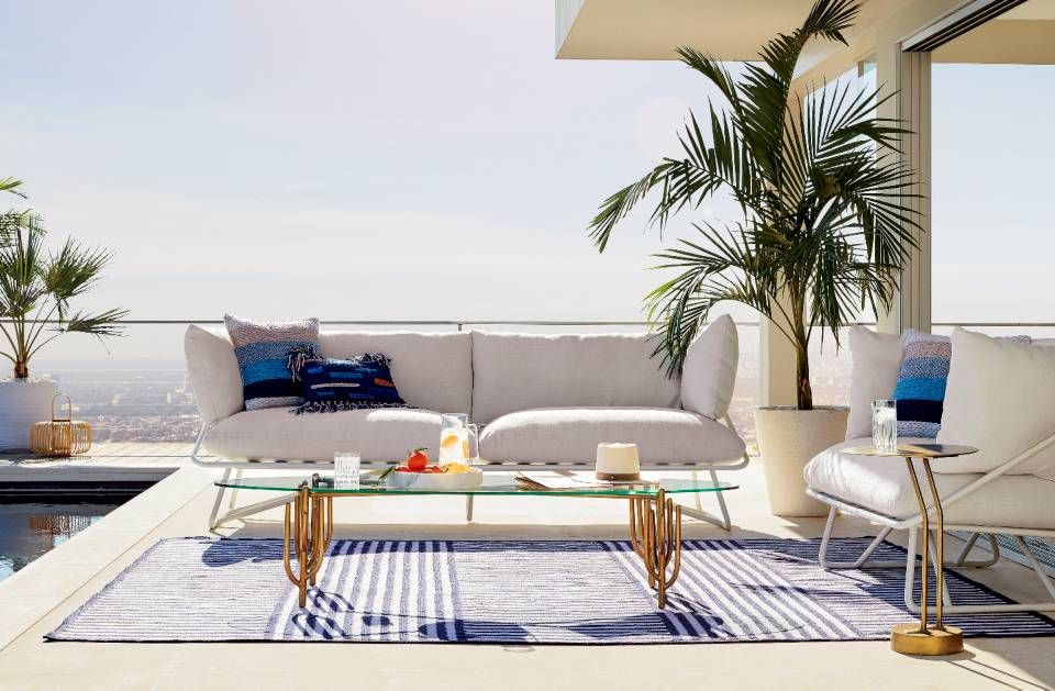 Five pieces you'd never know were made for outside - Luxury High-End Outdoor Furniture/CB2