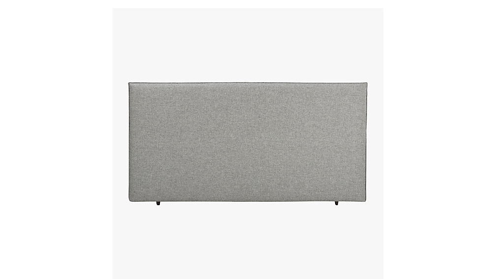façade grey king bed