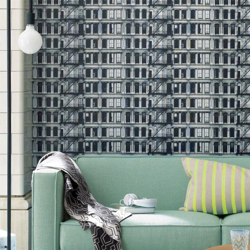 facade self-adhesive wallpaper