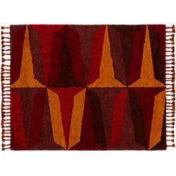 Farrah Red Shag Rug 8'x10'