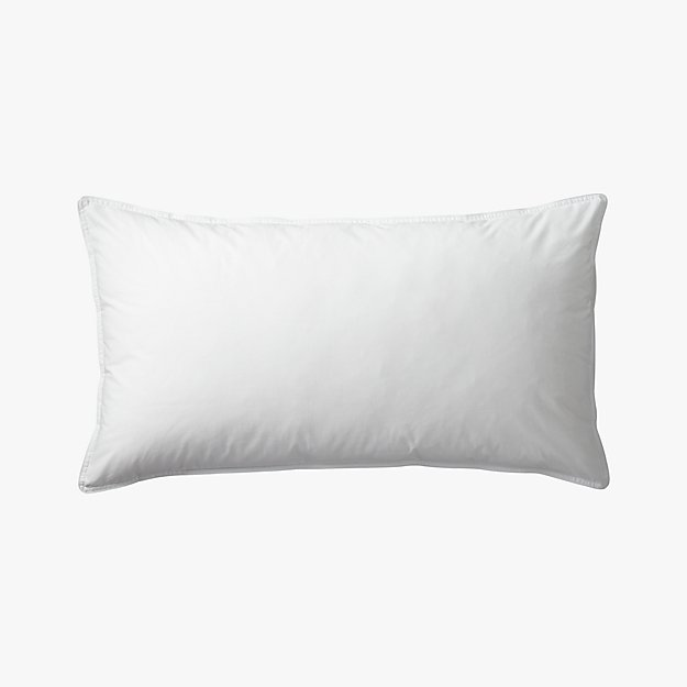 Feather Down King Pillow Insert Reviews Cb2