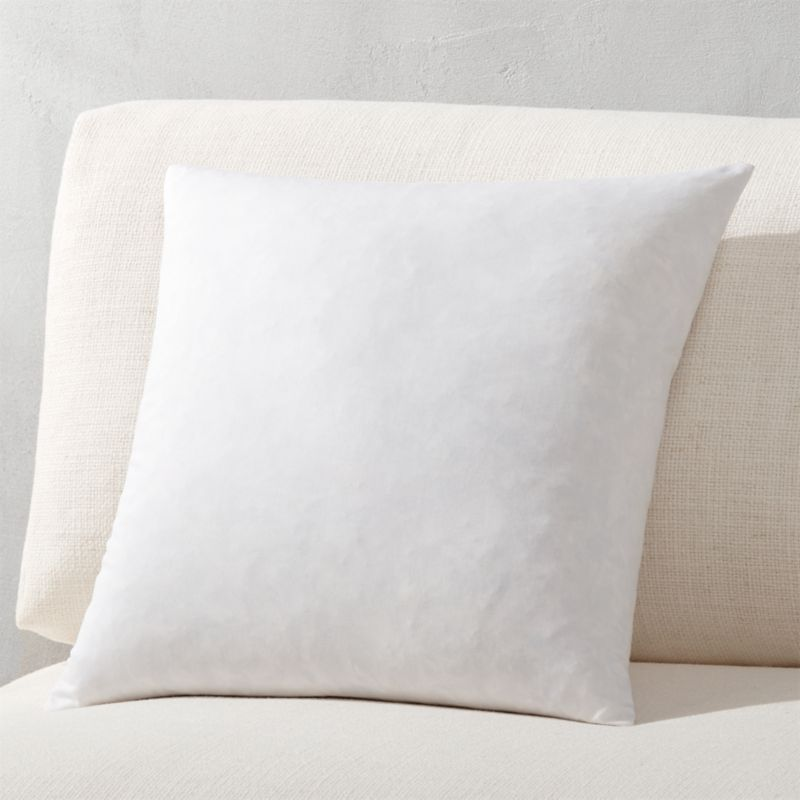 "16"" feather-down pillow insert"