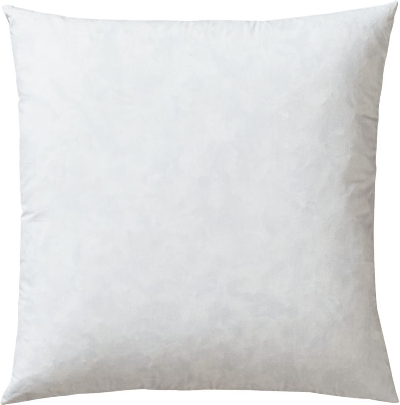 """16"""" feather-down pillow insert"""