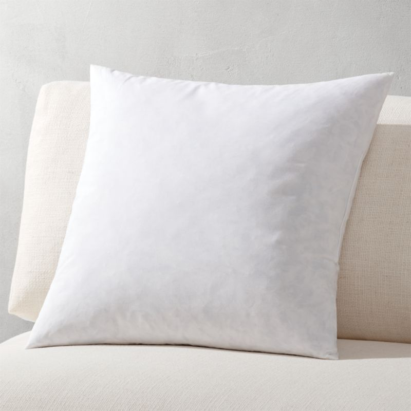 "18"" feather-down pillow insert"