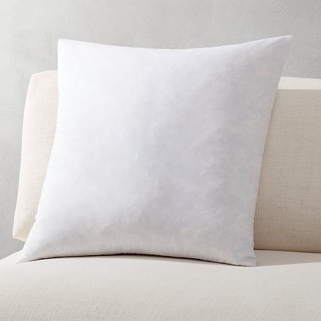 """20"""" feather-down pillow insert"""