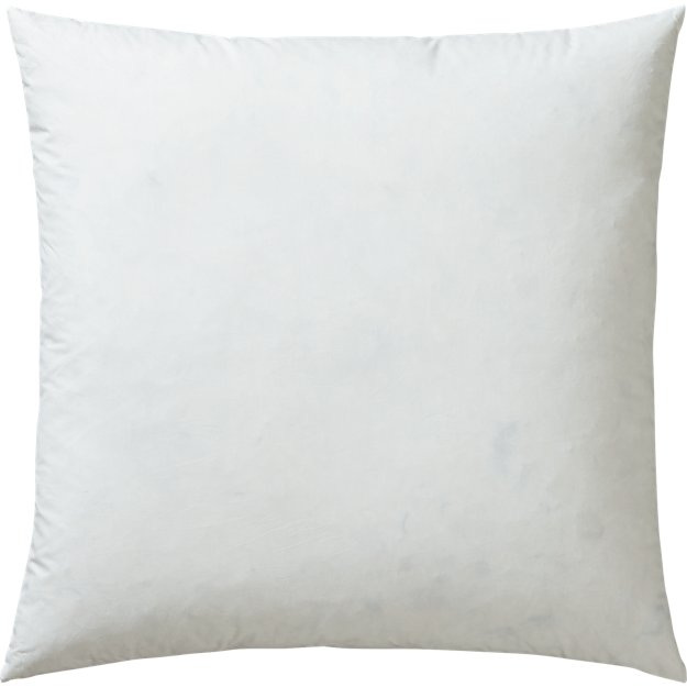 """23"""" feather-down pillow insert"""