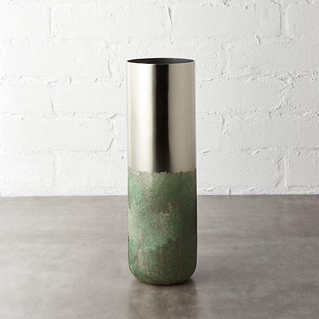 fields brass vase