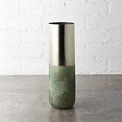 fields brass vase